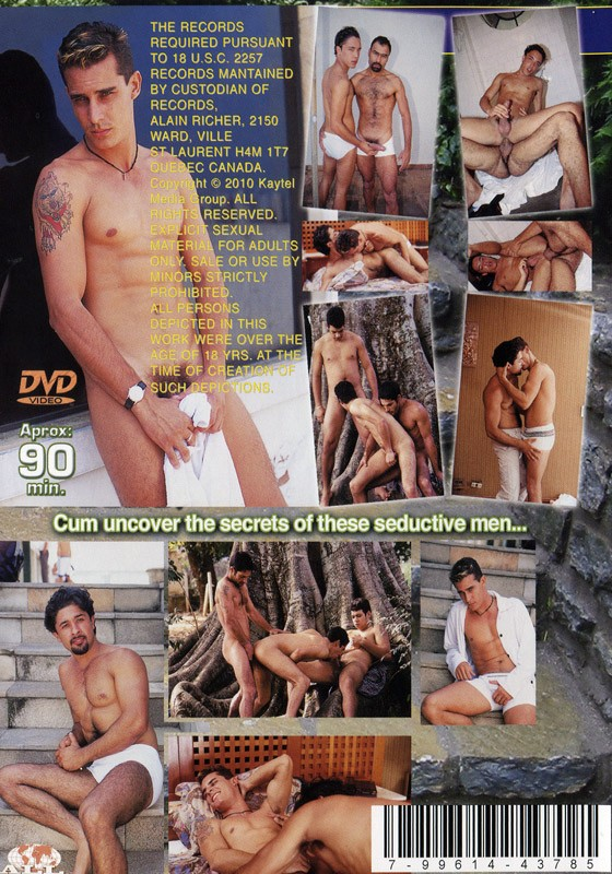 The Seductors DVD - Back