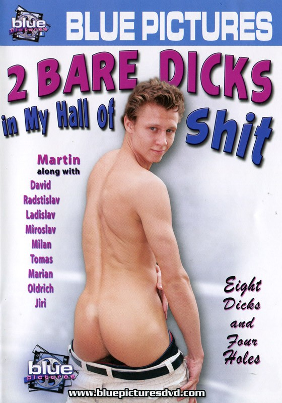 2 Bare Dicks In My Hall Of Shit DVD - Front