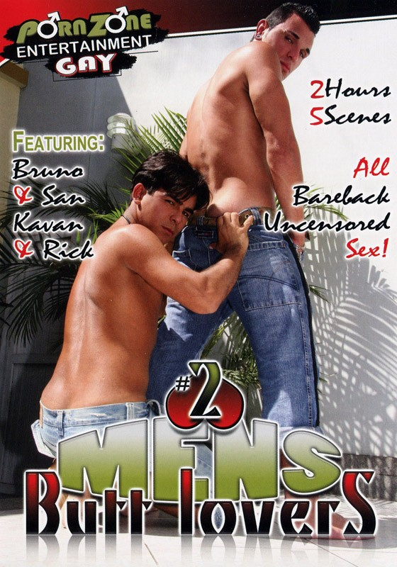 Mens Butt Lovers 2 DVD - Front