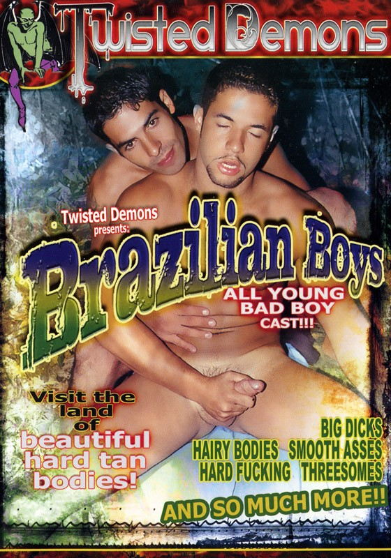 Brazilian Boys Vol. 1 DVD - Front