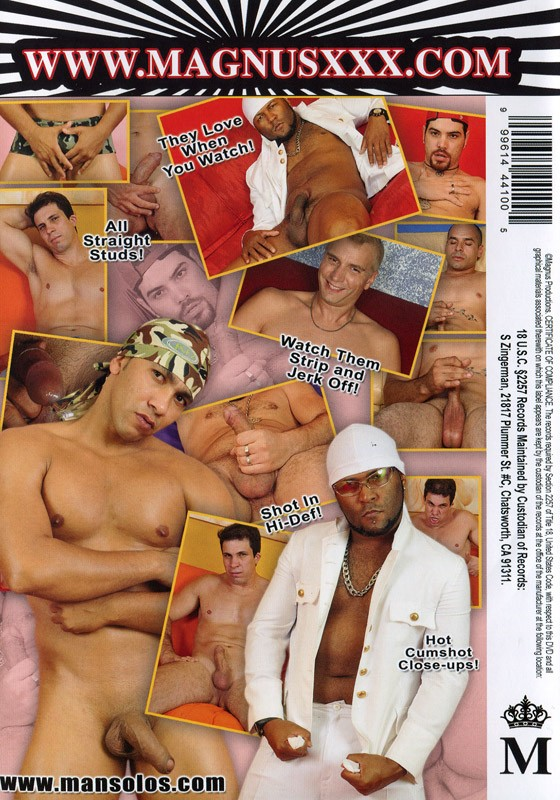 Straight Guys Jerking 7 DVD - Back