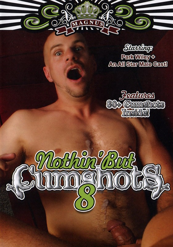 Nothin' But Cumshots 8 DVD - Front