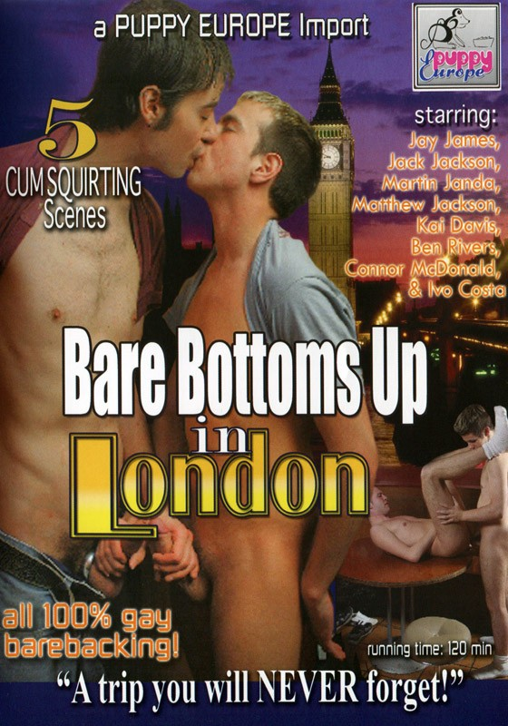 Bare Bottoms Up In London DVD - Front