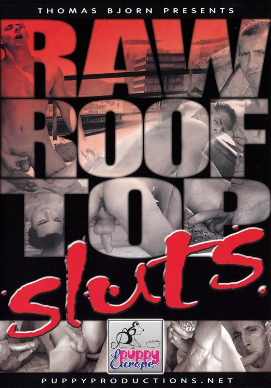 Raw Roof Top Sluts DVD - Front