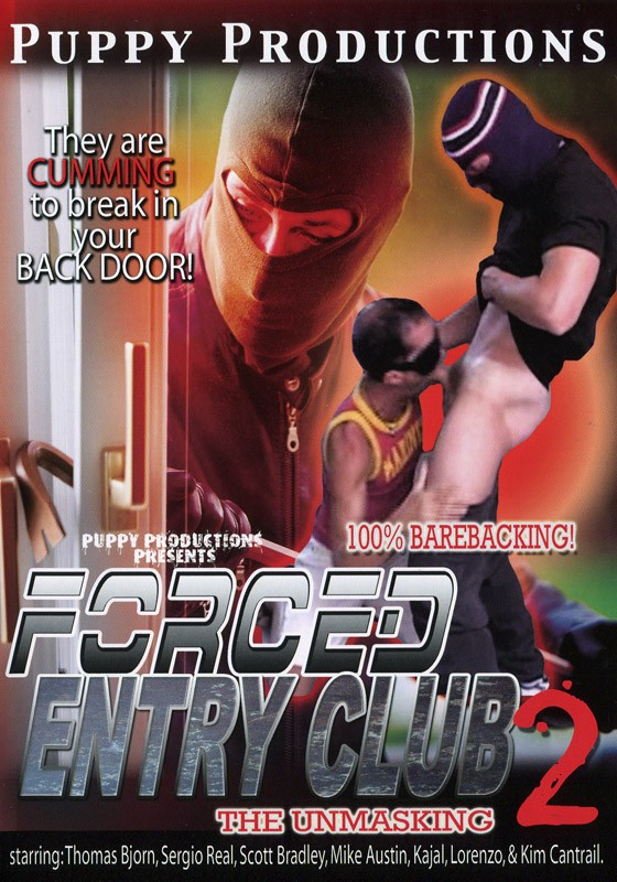 Forced Entry Club 2: The Unmasking DVD - Front