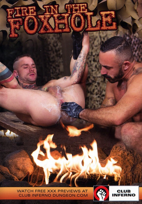 Fire In The Foxhole DVD - Front
