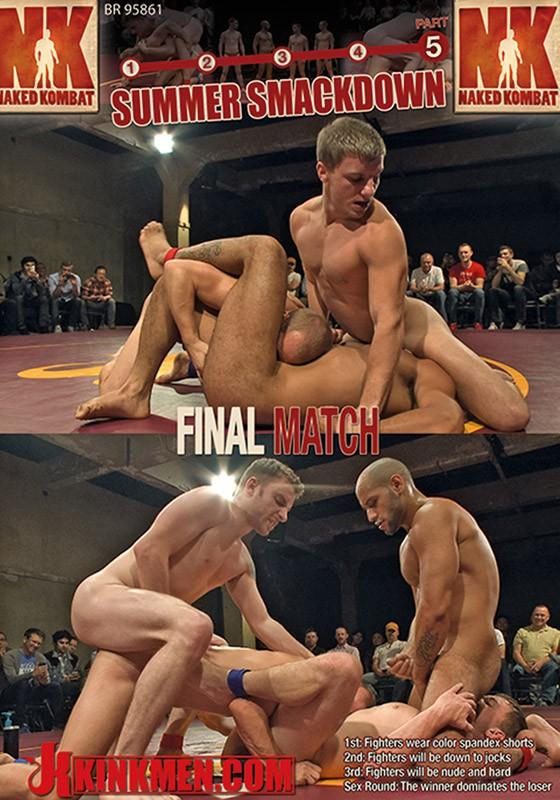 Naked Kombat 36 DVD (S) - Front
