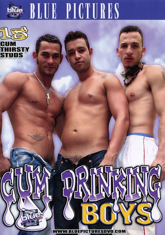 Cum Drinking Boys DVD - Front