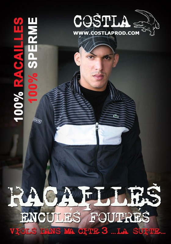 Racailles Encules Foutres - Viols 3 DVD - Front