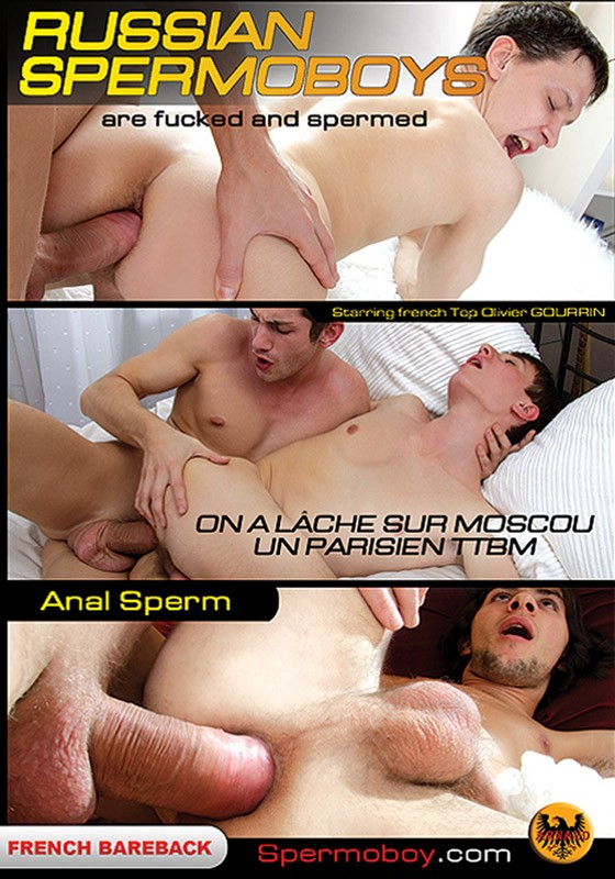 Russian Spermoboys DVD - Front