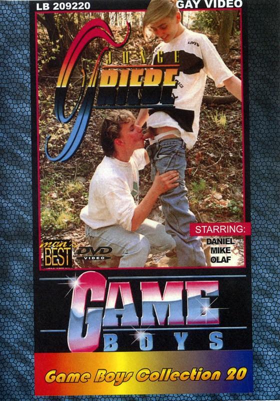 Game Boys Collection 20 - Junge Triebe + Spiegel Wichser DVD - Front