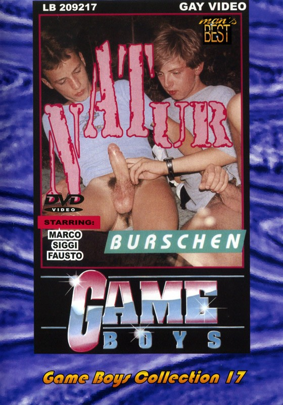 Game Boys Collection 17 - Natur Burschen + Big Balls DVD - Front
