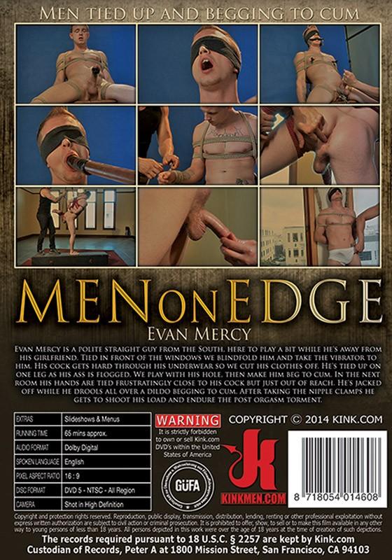 Men On Edge 23 DVD (S) - Back