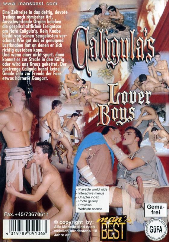 Caligula's Loverboys DVD - Back