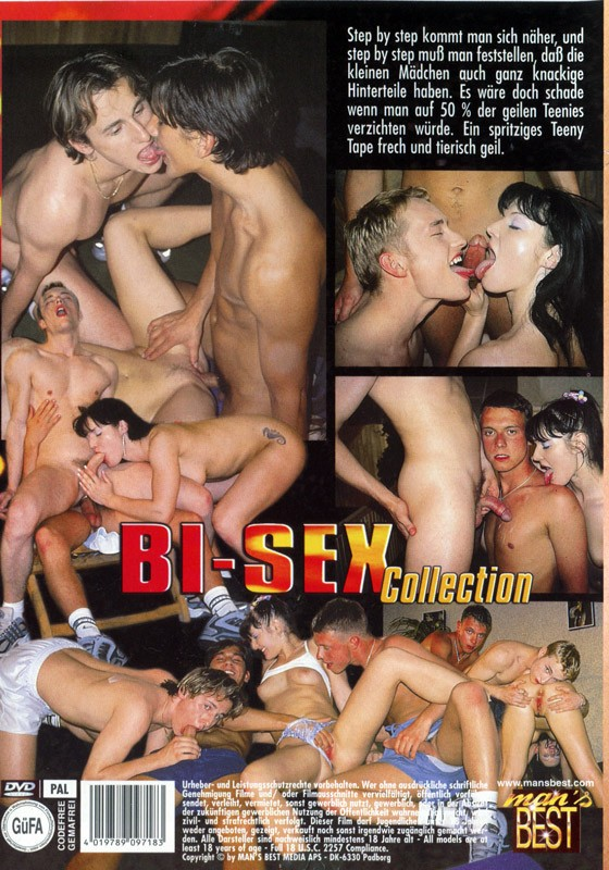 Bi-Sex Collection 4 DVD - Back