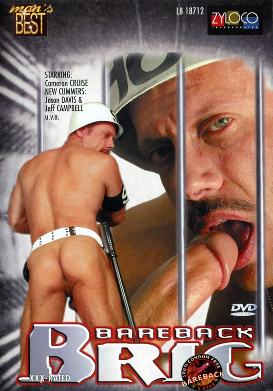 Bareback Brig DVD - Front