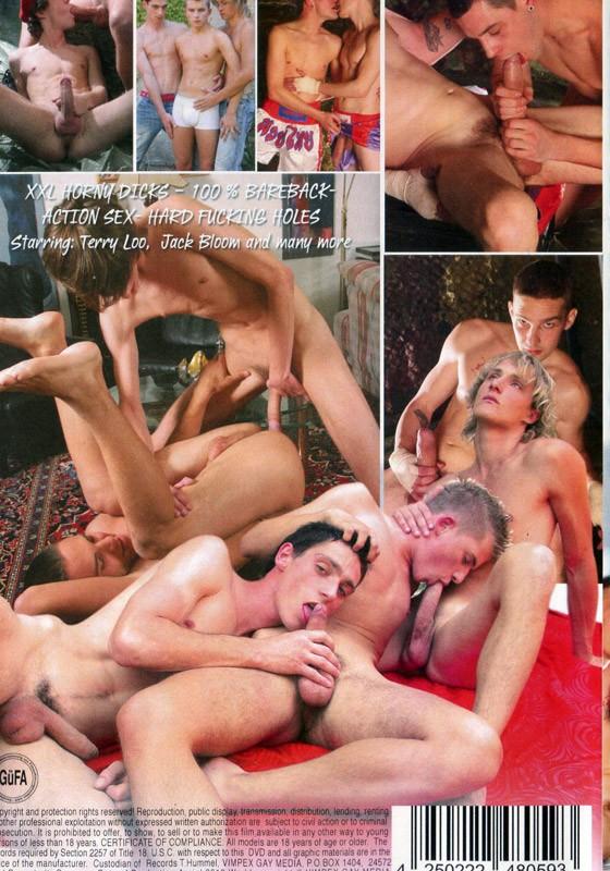 Bare Huge Dicks 21 DVD - Back