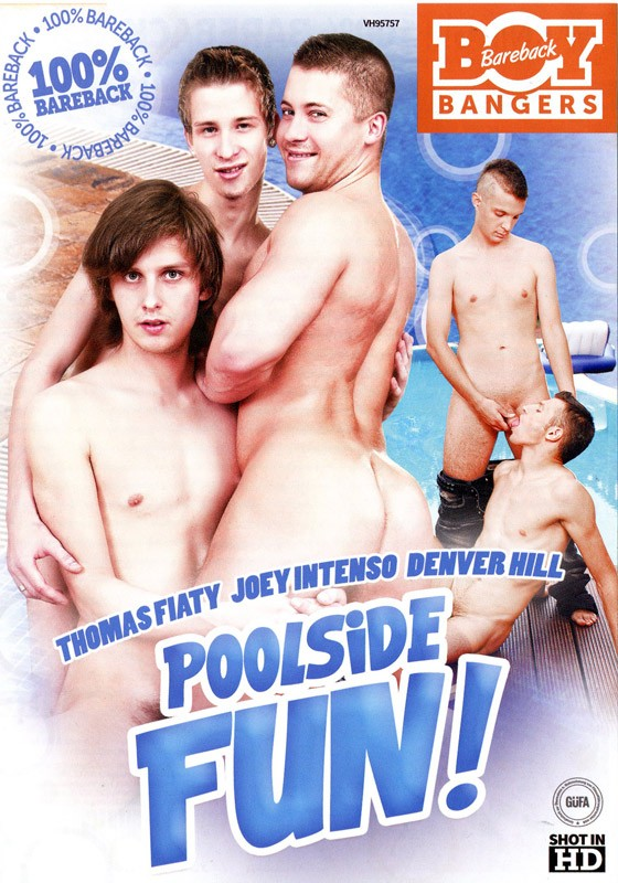 Poolside Fun DVD - Front