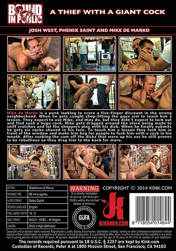 Bound In Public 69 DVD (S) - Back
