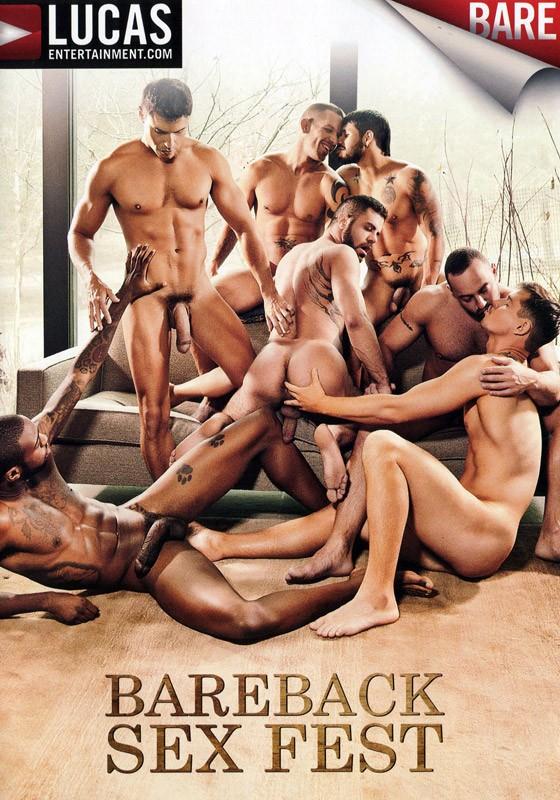 Bareback Sex Fest DVD - Front