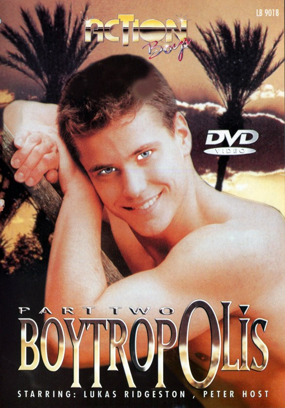 Boytropolis part 2 DVD - Front