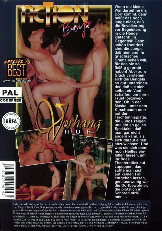 Vorhang Auf DVD - Back