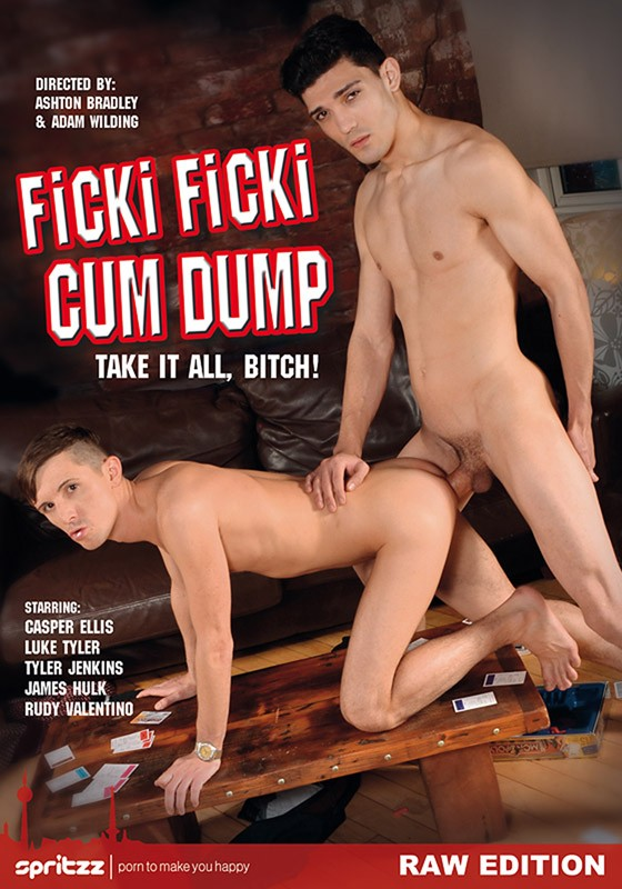 Ficki Ficki Cum Dump DVD - Front