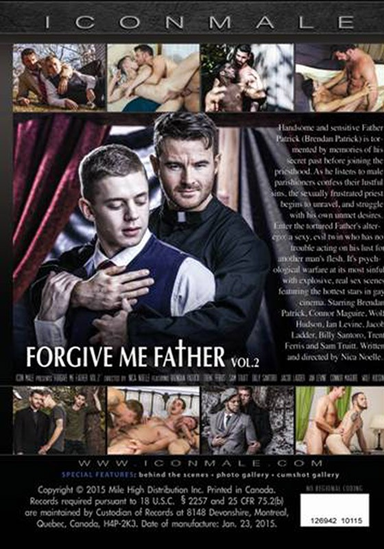 Forgive Me Father 2 DVD - Back