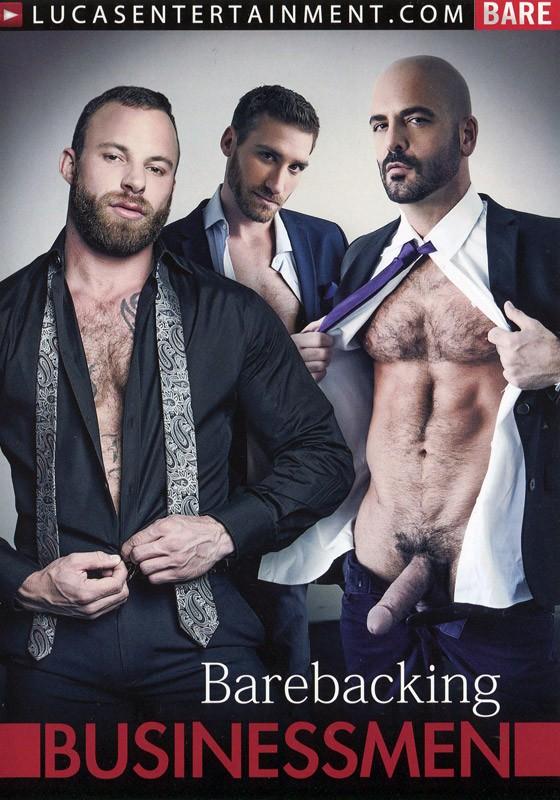 Barebacking Businessmen DVD - Front