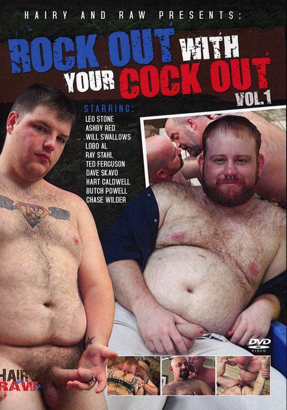 Rock Out With Your Cock Out 1 DVD - Front