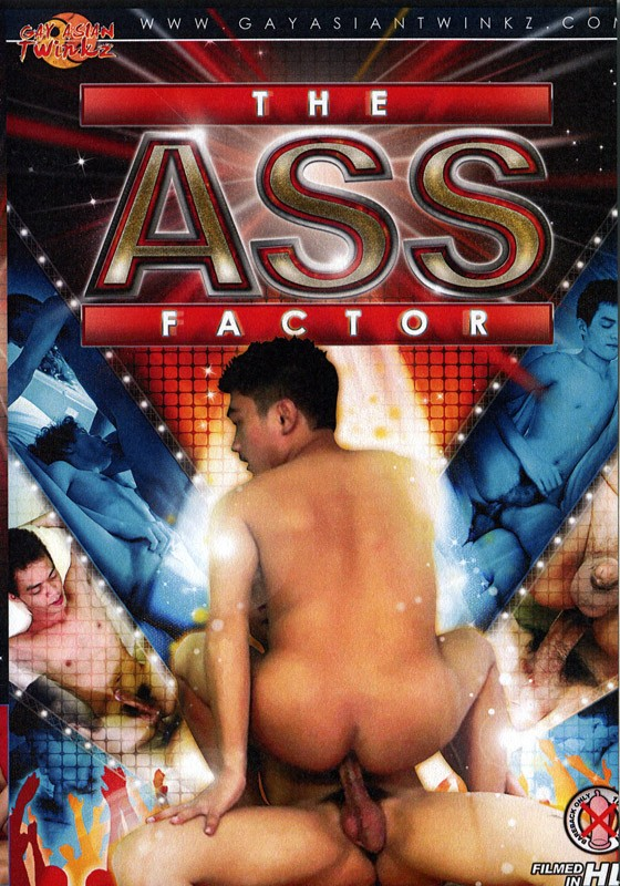The Ass Factor DVD - Front