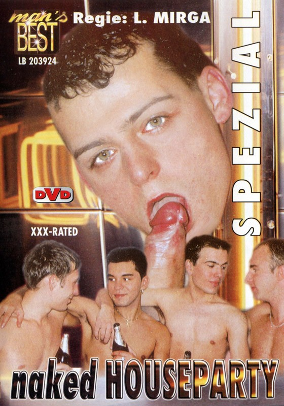 Naked Houseparty DVD - Front