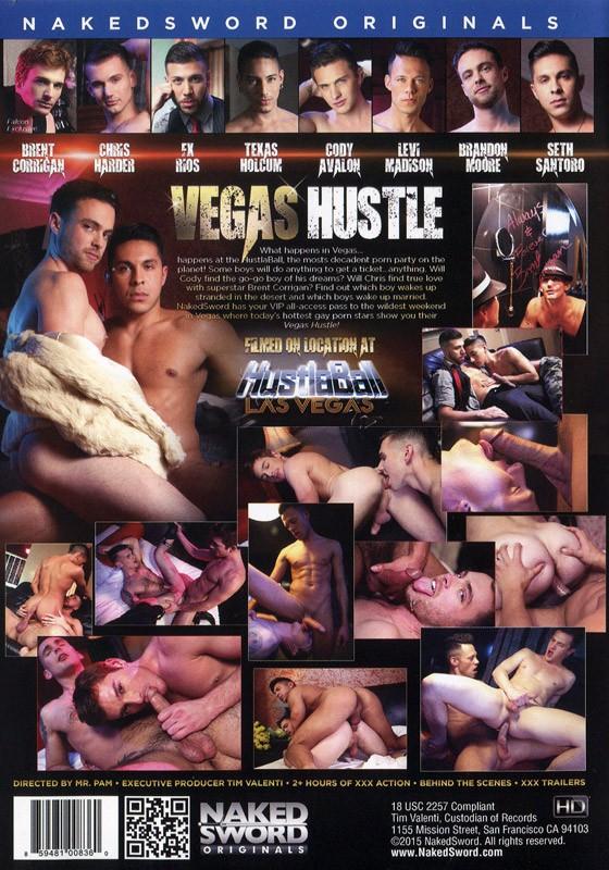 Vegas Hustle DVD - Back