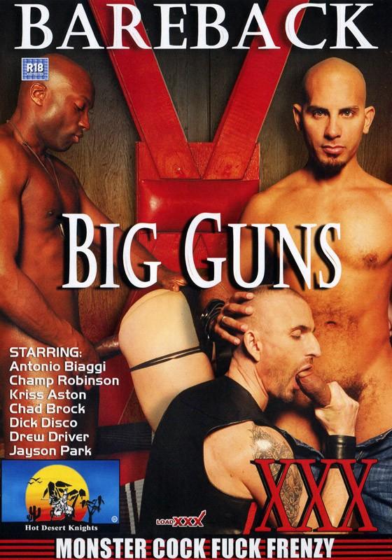 Bareback Big Guns DVD - Front