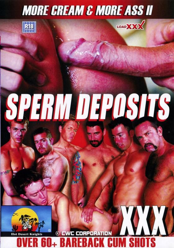Sperm Deposits DVD - Front