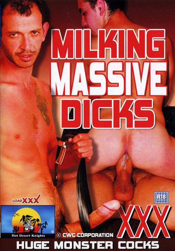 Milking Massive Dicks DVD - Front