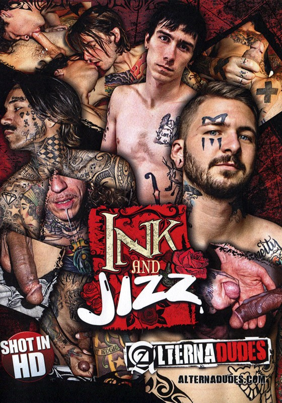 Ink And Jizz DVD - Front