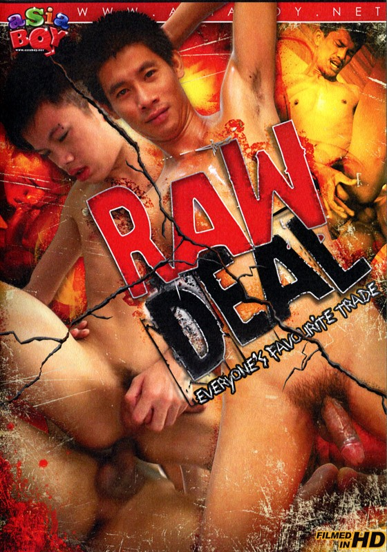 Raw Deal DVD - Front