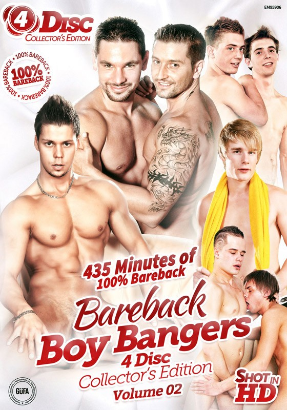 Bareback Boy Bangers Collector's Edition Volume 2 DVD - Front