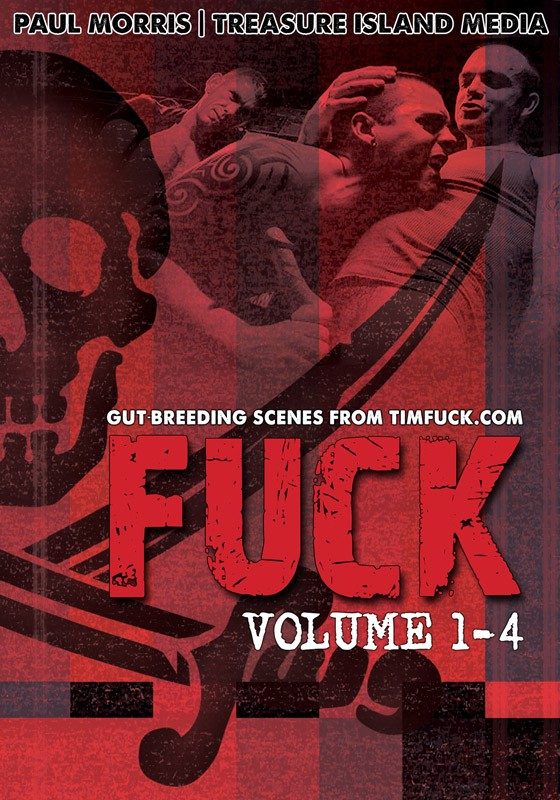 Fuck Volume 1-4 DVD - Front