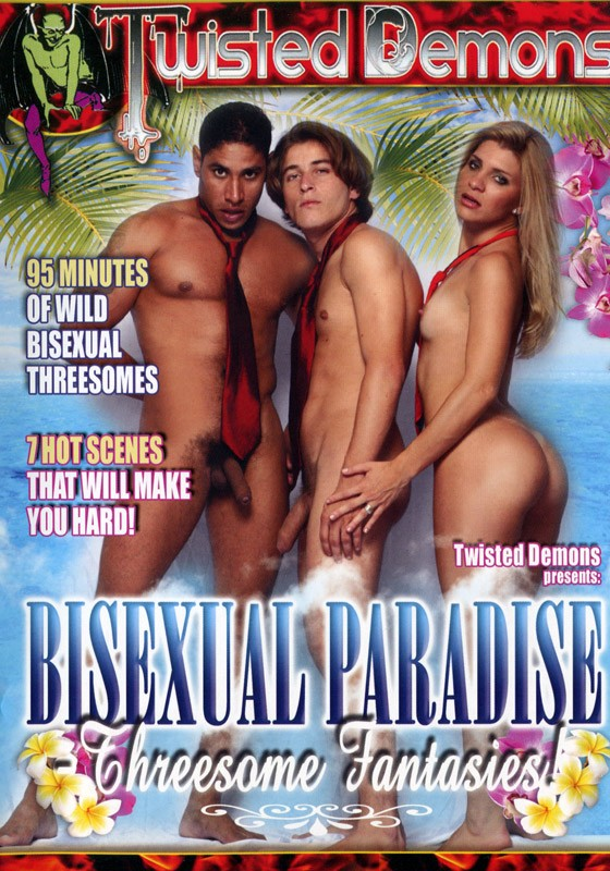 Bisexual Paradise - Threesome Fantasies! DVD - Front