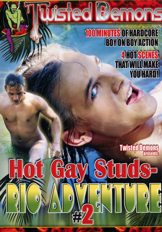 Hot Gay Studs - Rio Adventure Vol. 2 DVD - Front