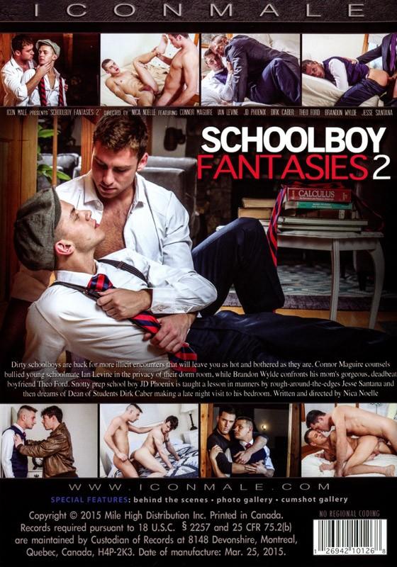 Schoolboy Fantasies 2 DVD - Back