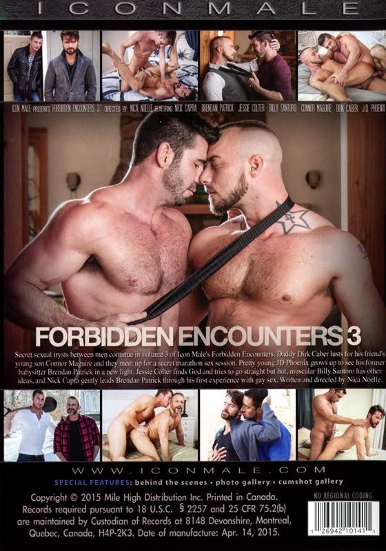 Forbidden Encounters 3 DVD - Back