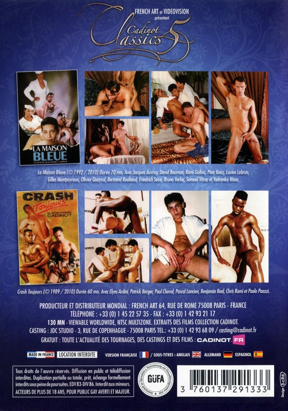 Cadinot Classics 5 DVD - Back