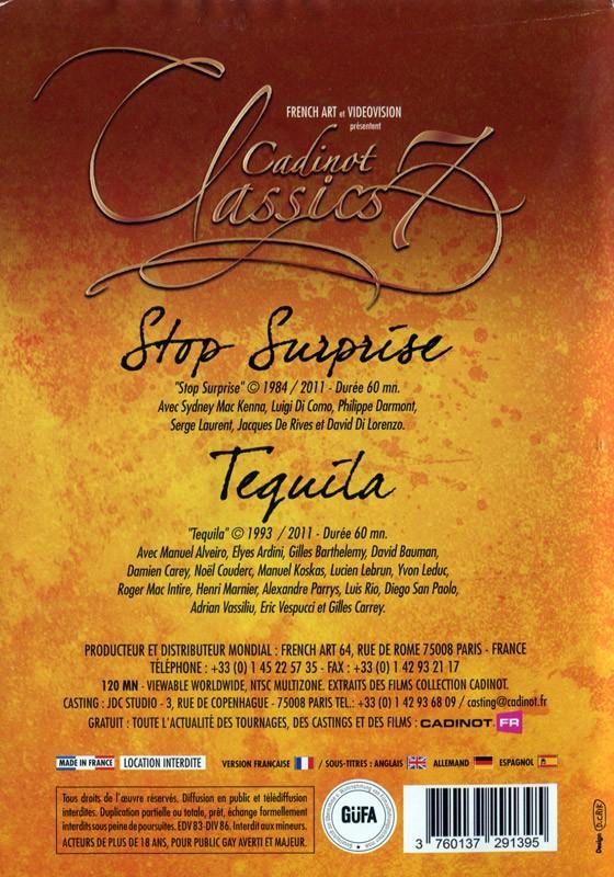 Cadinot Classics 7 DVD - Back