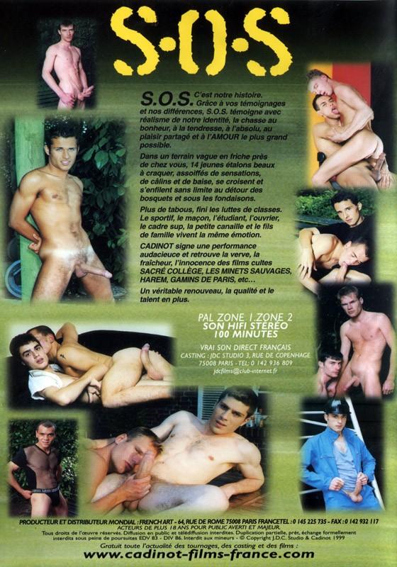 S.O.S Cadinot DVD - Back