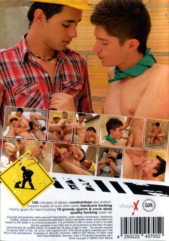 Construction Gang DVD - Back