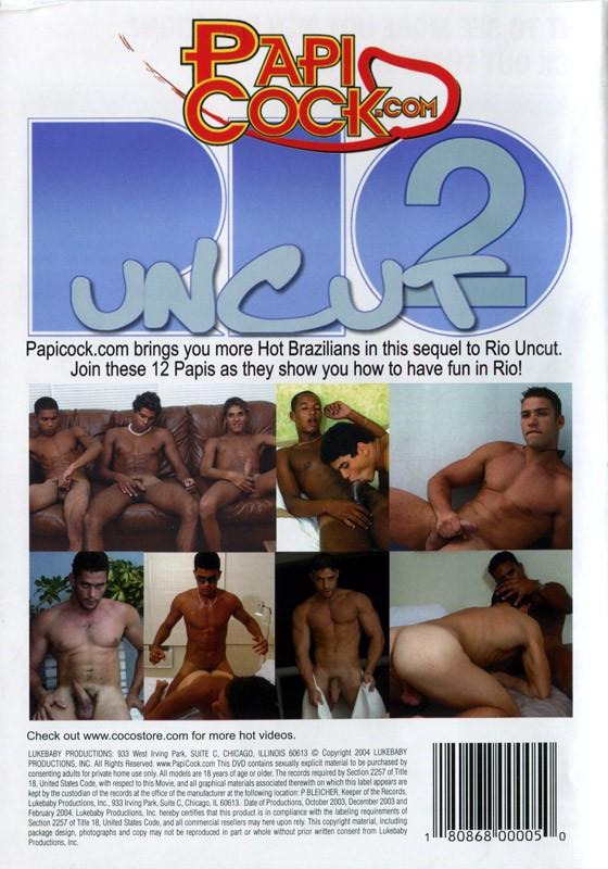 Rio Uncut 2 DVD - Back