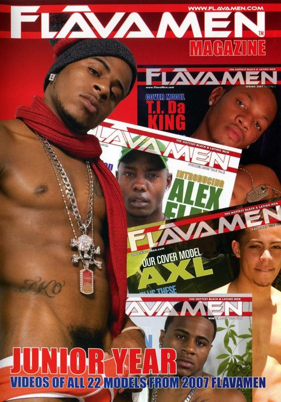 FlavaMen Junior Year DVD - Front